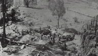 Carlon&#39;s stockyard on Galong Creek, Megalong