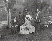 Carlon family, Green Gully, Megalong Valley