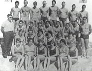 Australian Olympic Swim Team, [portrait], Rome, 1960