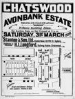 Avonbank Estate, Chatswood, Saturday 31st March, 1928