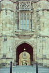 Entrance to quadrangle and Western Tower, University of Sydney