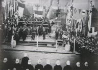 Laying of Naval Store Foundation Stone