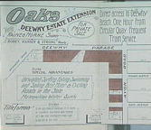 Oaks Dee Why Estate Extension, ca. 1915 : sales plan